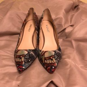 Nine West Butterfly pumps